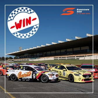 Win tickets to the Penrite Sandown 500 for you and 3 mates  - Terms & Conditions